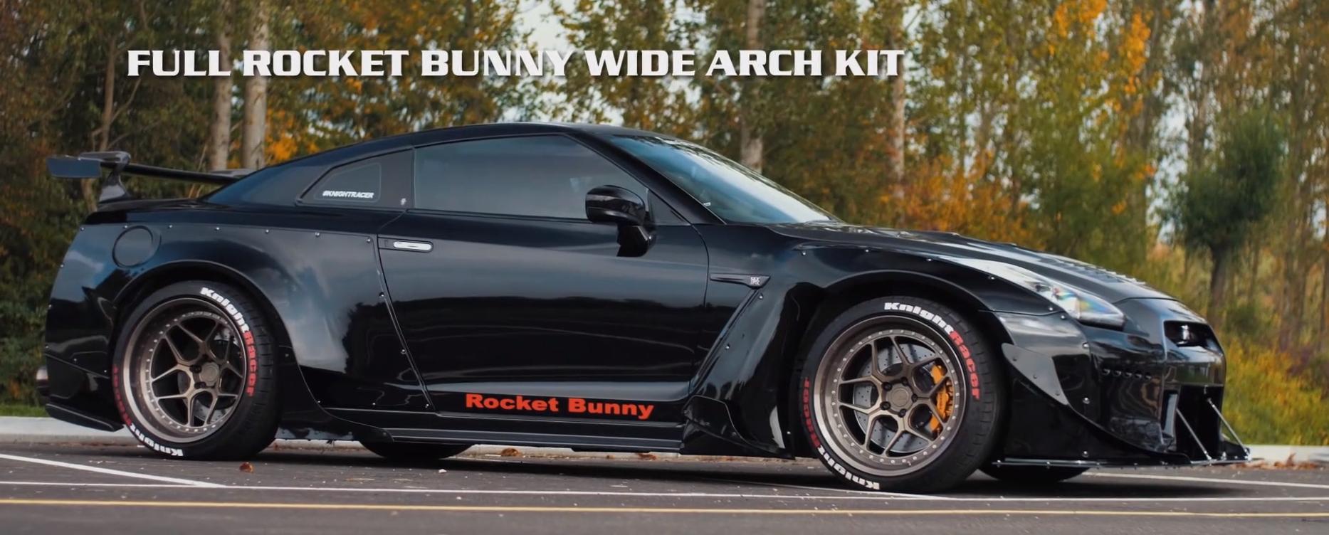 Knight Racer – Rocket Bunny GTR